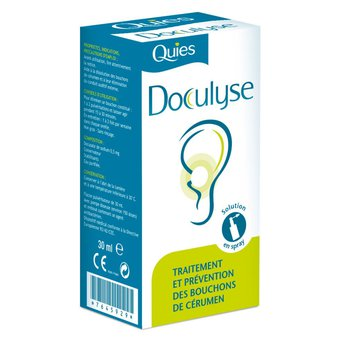 Quies doculyse traitement et prevention de cerumen spray 30ml