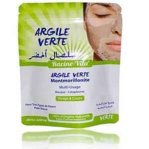 Racine vita argile verte masque-cataplasme visage et corps 100g