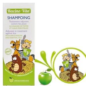 Racine vita shampooing traitement intensif poux et lentes