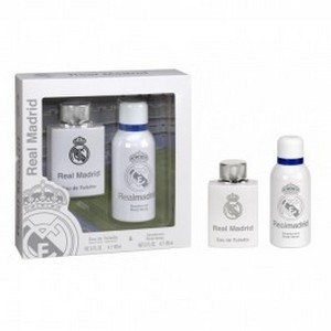 Air-Val Real Madrid Set Eau de toilette 100ml + Déodorant 150ml Réf : 5429