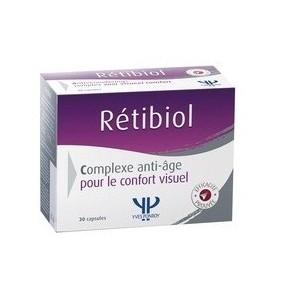 Yves Ponroy Retibiol - Complexe Anti-âge pour la vue 30 Capsules
