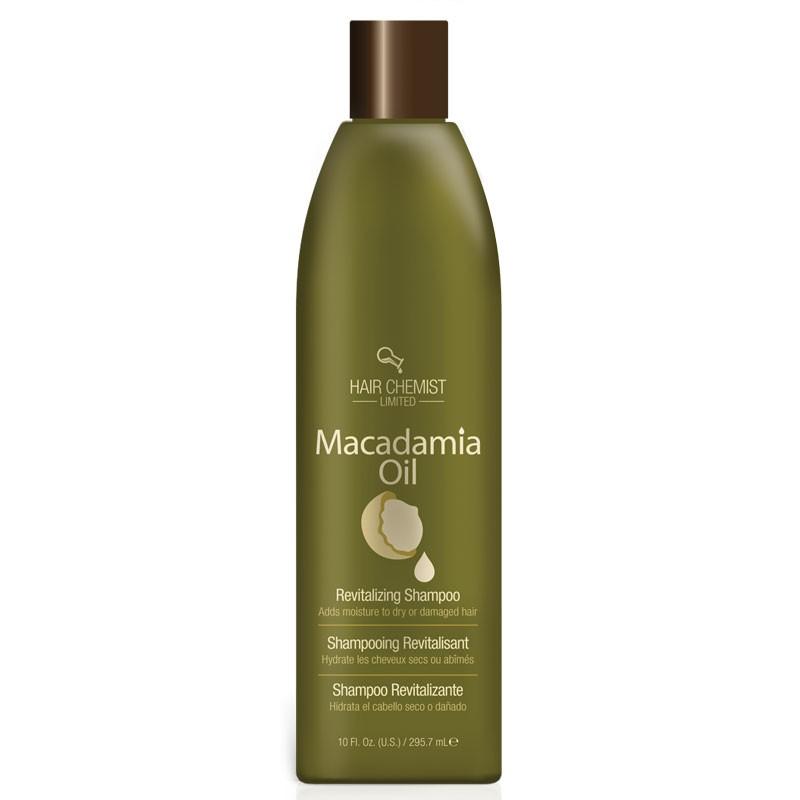 Hair Chemist Macadamia Oil Rejuvenating Shampoo - Shampooing Hydratant Pour Cheveux Secs et Abîmés 295.7 ml