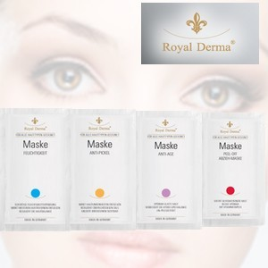 Royal Derma masque anti-rides 2x5ml