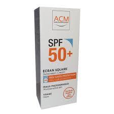 Acm Ecran Solaire Spf 50+ Visage - Peaux Photosensibles