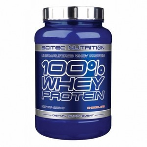 Scitec Nutrition 100% Whey Protein Fraise 920g