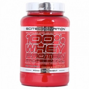 Scitec Nutrition 100% Whey Protein Fraise Blanc 920g