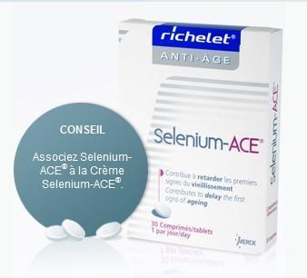 Sélénium-Ace essentiel 30+ (30 Comprimés )