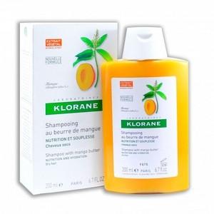 Klorane Shampooing Nutritif Beurre de Mangue (200 ml)