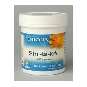 Fenioux shii-ta-ké (lentinus elodes) 200 gélules