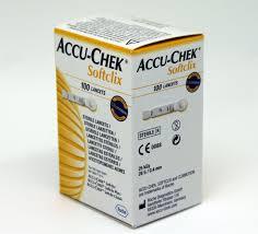 Lancettes Accu-Chek Softclix 100 Unités