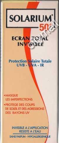 Solarium 50+ Ecran Total invisible(50 ml)