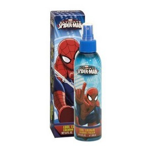 Marvel Spider man eau de cologne corporelle spray +3 ans 200 ml Réf : P5585