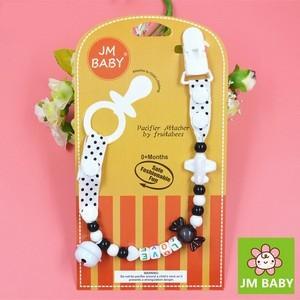 JM Baby Attache-Sucette à Chaîne / Porte-Jouets Pour Bébé