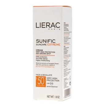 Lierac Sunific suncare extreme spf 50+, spray lacté confort 150ml