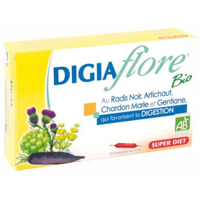Super Diet : Digiaflore Bio-tonique digestion 20 ampoules de 15 ml