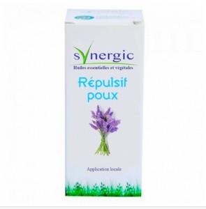 Synergic répulsif poux aux huiles essentielles