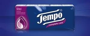 Tempo complete care 9 mouchoirs avec 4 epaisseurs (à leucalyptus, cineol, menthol...)
