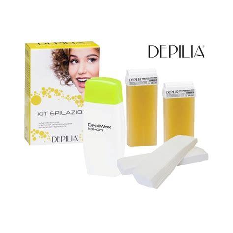 Depilia Kit épilation chauffe-cire titane (jaune)
