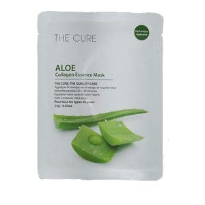 The cure Aloe collagen essence mask 24g