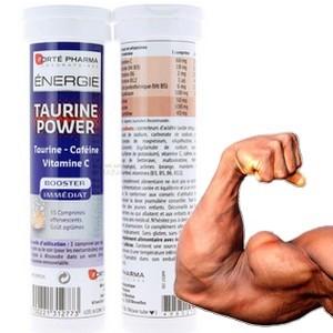 Forte Pharma Taurine power (boite de 15 cp) 1 comprime=3 boissons energetiques