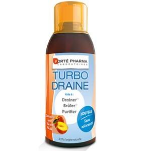 FortePharma Turbo draine Minceur pêche (500 ml)