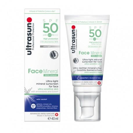 Ultrasun face mineral spf50 40ml