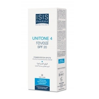Unitone 4 Reveal SPF 20 Soin Protecteur Anti-Taches 30ml