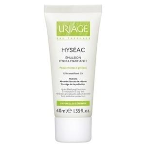 Uriage Hyseac Emulsion Hydra Matifiante Hydrate et Absorbe L'Exés Du Sébum 40ML