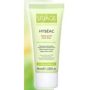 Uriage Hyseac Soin Actif Aux AHA 40ml