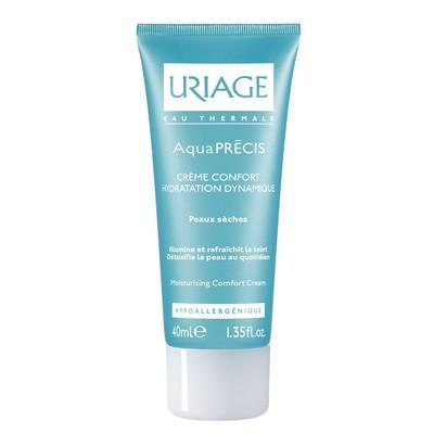 Uriage AQUAPRECIS Crème Confort Visage - Peaux Sèches et Sensible (40 ml)