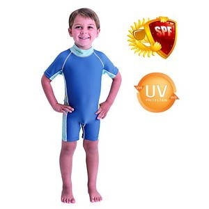 Maillot de bain Vêtements de protection UV UPF40+ pour enfants S-M de 3 à 4 ans de 92 à 100 cm