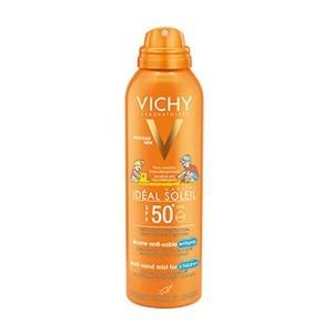 Vichy Ideal Soleil Brume Anti-sable Protection enfants SPF 50+ lait solaire 200 ml