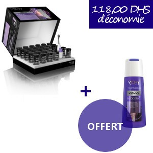 OFFRE Vichy Dercos Neogenic Traitement 28 ampoules + Shampoing Neogenic 200ml OFFERT