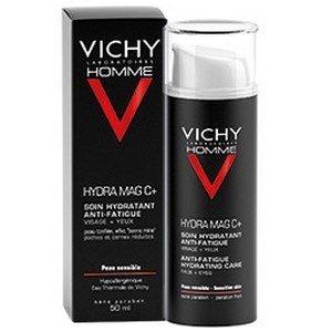 Vichy Homme HYDRA MAG C. Soin hydratant 24h. Fortifiant (50 ml)