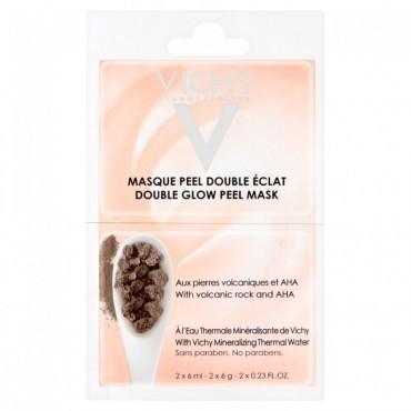 Vichy Masque Peel Double Eclat aux pierres volcaniques et AHA 2 x 6ml
