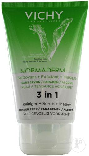 Vichy Normaderm Tri Activ Gel Nettoyant 125ml