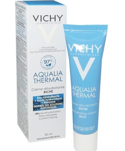 Vichy Aqualia Thermal Crème Riche HYDRATATION DYNAMIQUE Tube (30ml)