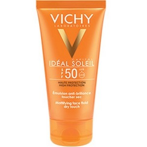 Vichy Ideal Soleil Adultes anti-brillance toucher sec IP50+ (50 ml)