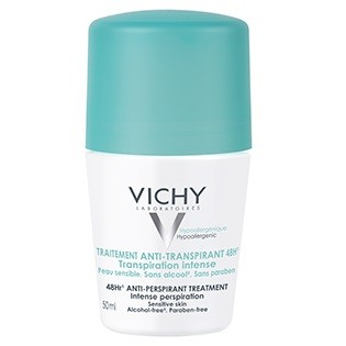 Vichy Traitement Anti-transpirant- Transpiration Intense 48H (Bille) 50ml