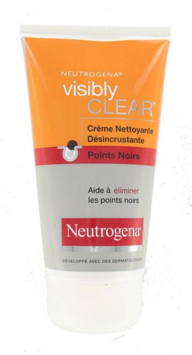 NEUTROGENA VISIBLY CLEAR CREME NETTOYANTE DESINCRUSTANTE Points Noirs (150 ml)