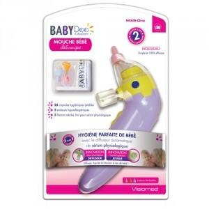 Visiomed Babydoo Mouche bébé mx6 one avec diffuseur automatique de serum physiologique
