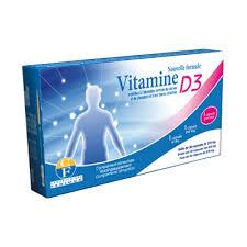 Fenioux Vitamine D3 Boite de 30 capsules ( 1 capsule par jour)