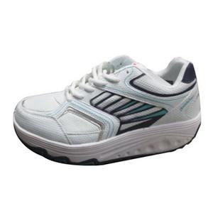 Workout balancing shoes blanc-bleu