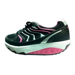 Workout balancing shoes noir-rose