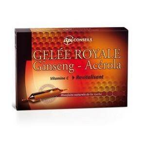 Yves Ponroy Gelée Royale / Ginseng / Acerola 20 Ampoules