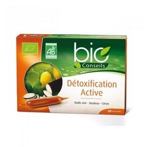 Yves ponroy Détoxification active - Radis noir - Bouleau - Citron 20 Ampoules
