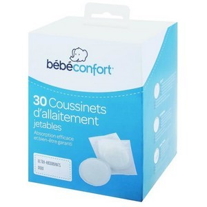 Bébé confort 30 Coussinets d'allaitement jetables ultra-absorbants