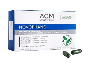 Acm Novophane ongles et cheveux (60 gélules)