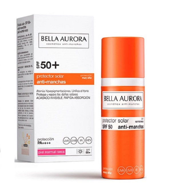 Bella Aurora ecran Spf 50 Peaux norm-seches 50 ml