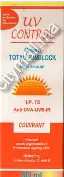 UV CONTROL ECRAN TOTAL IP 75 COUVRANT